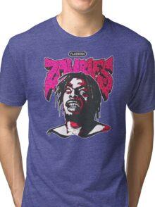 Flatbush ZOMBiES Logo x MEECH Tri-blend T-Shirt