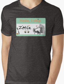 One Piece Shipping: ZoNa Mens V-Neck T-Shirt