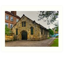 St Crux - Pavement,York Art Print