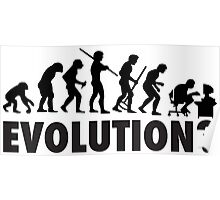 Evolution? Devolution of Man Poster