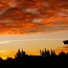 Rangiora Sunset by John Brotheridge