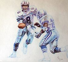 Troy Aikman and Emmit Smith by keys307a