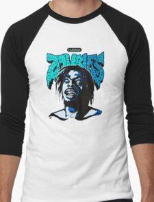 Flatbush ZOMBiES Logo x MEECH Men's Baseball ¾ T-Shirt