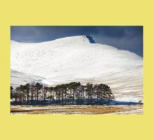 Pen Y Fan in the Snow One Piece - Short Sleeve