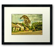 Hide-Away  Framed Print