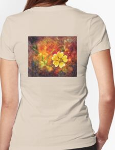 Spring Color Womens Fitted T-Shirt