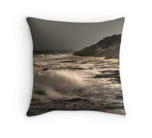 The Wild Sea.... Throw Pillow