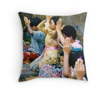 Prayers & Offerings Throw Pillow