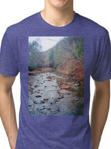 Cranberry River In Monongahela National Forest Tri-blend T-Shirt