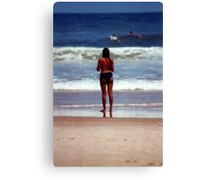 Girl from Ipanema Canvas Print