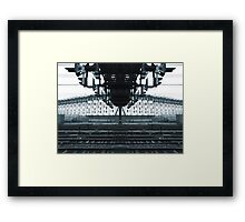 yrtnaggantry Framed Print