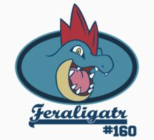 Mr.Gatr - Feraligatr by Kaijuuz