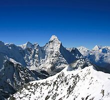 Ama Dablam from Imja Tse by Richard Heath