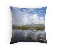Lochan na h-Alaise. Throw Pillow