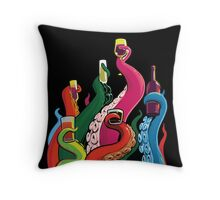 Tentacle Cluster Throw Pillow