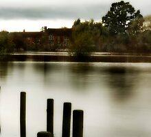 Tewkesbury Flood Waters by dspics