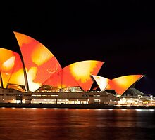 Sydney Opera House in Colour, June 2009 by Charles Fortin