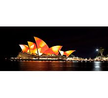 Sydney Opera House in Colour, June 2009 Photographic Print