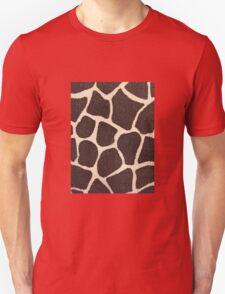 Textured Giraffe Print T-Shirt
