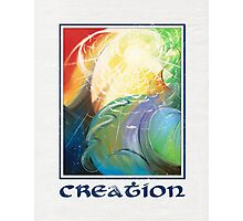 Creation Photographic Print
