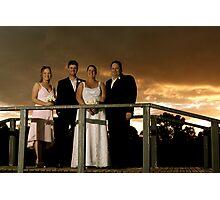 Sunset Bridge Photographic Print