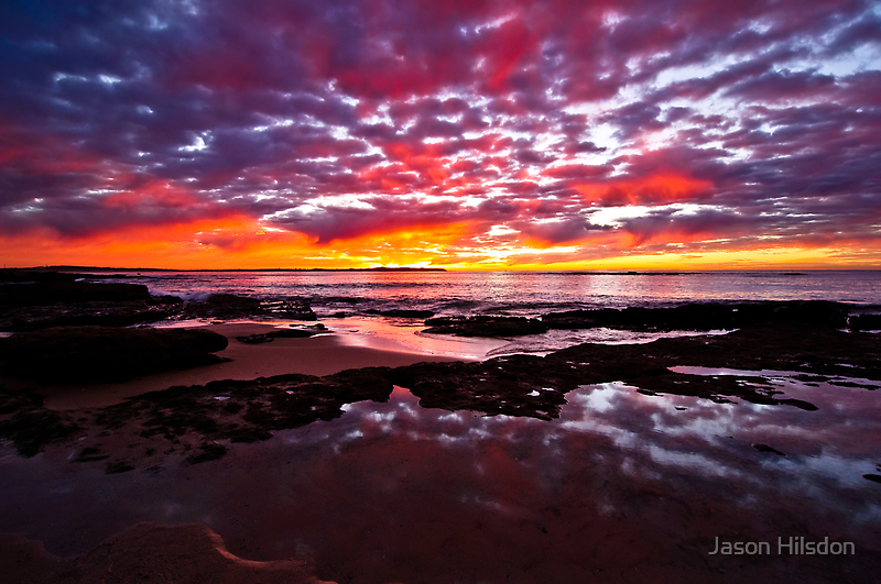Fire in the Sky by Jason Hilsdon