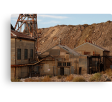 Rusting in Broken Hill Canvas Print