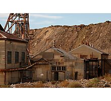 Rusting in Broken Hill Photographic Print