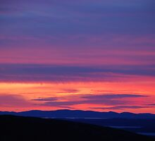 Cadillac Mountain Sunset by Alex Gambino