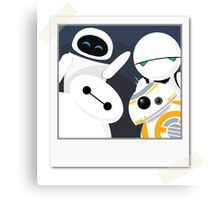 Baymax and Friends Selfie  Canvas Print
