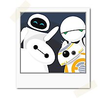 Baymax and Friends Selfie  Photographic Print