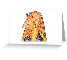 Jar Jar Jinks Greeting Card