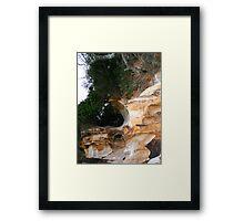 Natural sculpture 1 Framed Print