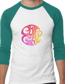 Cute Girl Men's Baseball ¾ T-Shirt