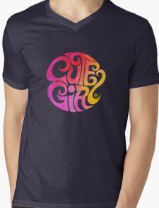 Cute Girl Mens V-Neck T-Shirt