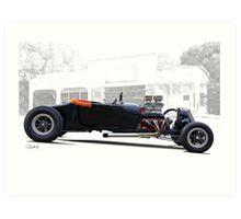 1927 Ford 'Hot Rod' Roadster Art Print