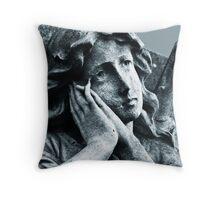 Stone Sorrow Throw Pillow