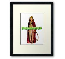 SwagMaiden Framed Print