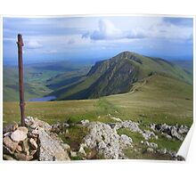 The Lake District: Heading to Froswick Poster