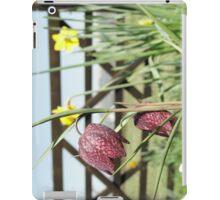 Snakesheads and Daffodils iPad Case/Skin