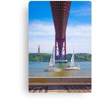 sailing  Canvas Print