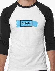 PHAN - TRXYE insp. (blue&black) Men's Baseball ¾ T-Shirt