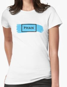 PHAN - TRXYE insp. (blue&black) Womens Fitted T-Shirt