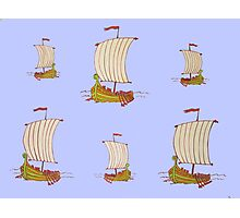 Sailor Boats Photographic Print