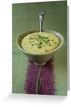 Leek and potato soup by Ilva Beretta