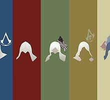 Assassin's Creed Minimal by ClaireCrisci