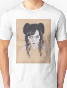 Realism Charcoal Drawing of Apnea/Apneatic Unisex T-Shirt