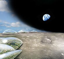 Terraforming the first moon of Terra Nova by Robert Burton