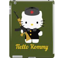 Hello Kommy iPad Case/Skin