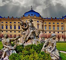 Prince Bishops Palace Wurzburg Germany by photosbyflood